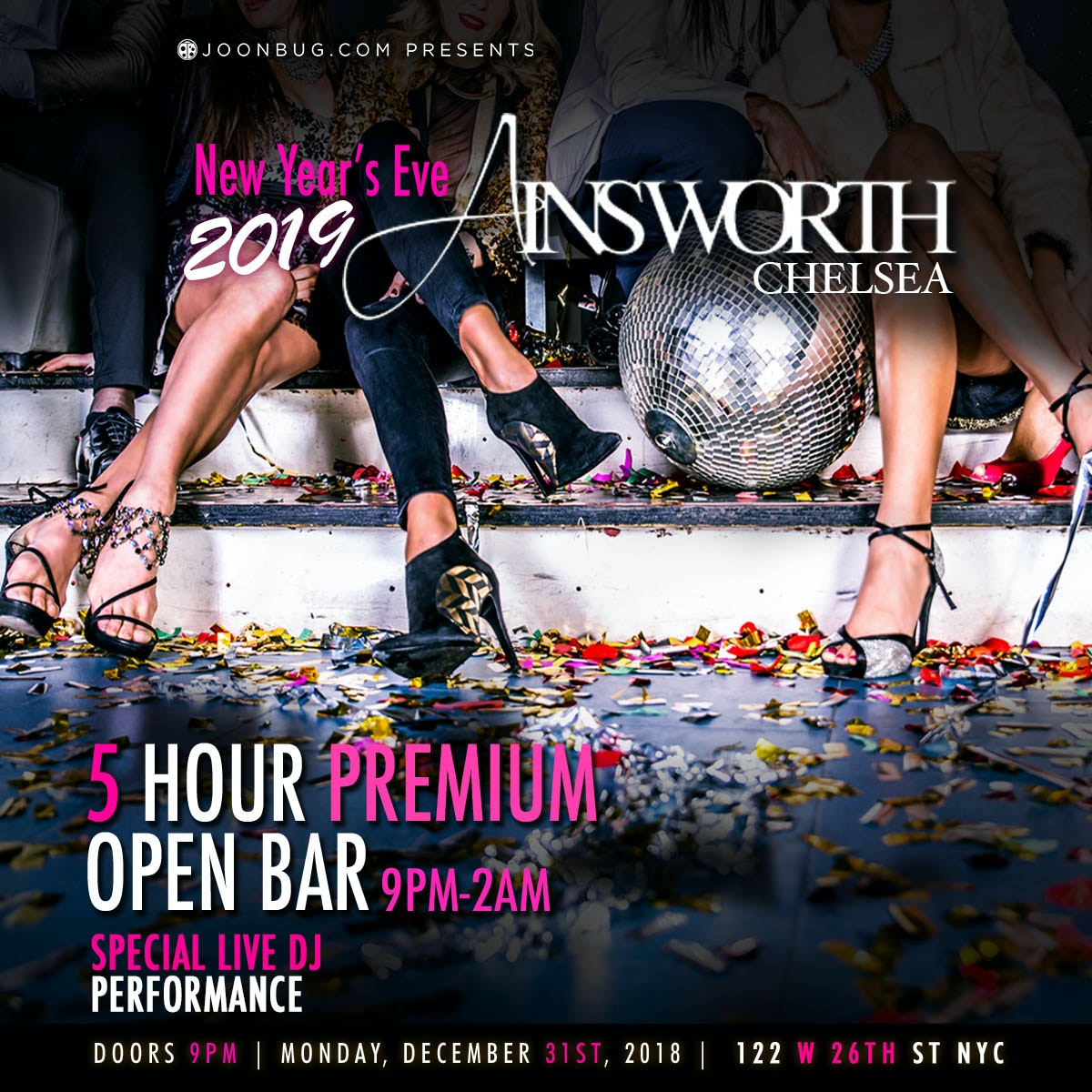 Ainsworth Chelsea New Years Flyer