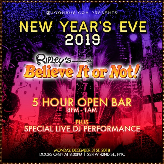 ripley s believe it or not new york vip new years parties get
