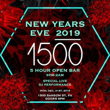 1500 Lounge Mad River Philadelphia All Access Nye