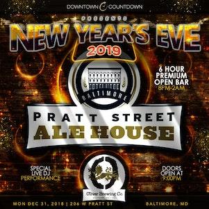 Downtown Countdown @ Pratt St Ale House