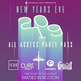 Boston All Access Party Pass