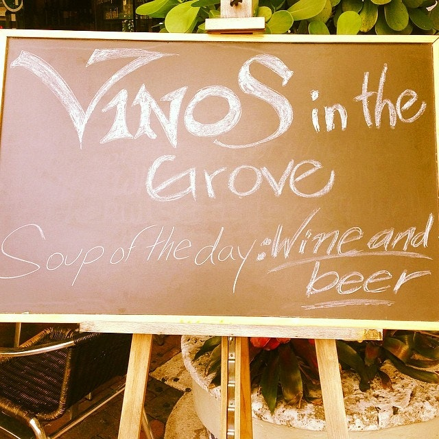 Vinos in the Grove