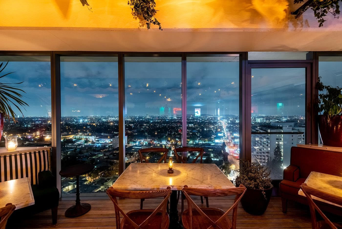 Harriet S Rooftop At The 1 Hotel West Hollywood New