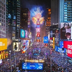 Times Square Family NYE Party Pass