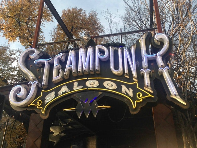 Steampunk Saloon