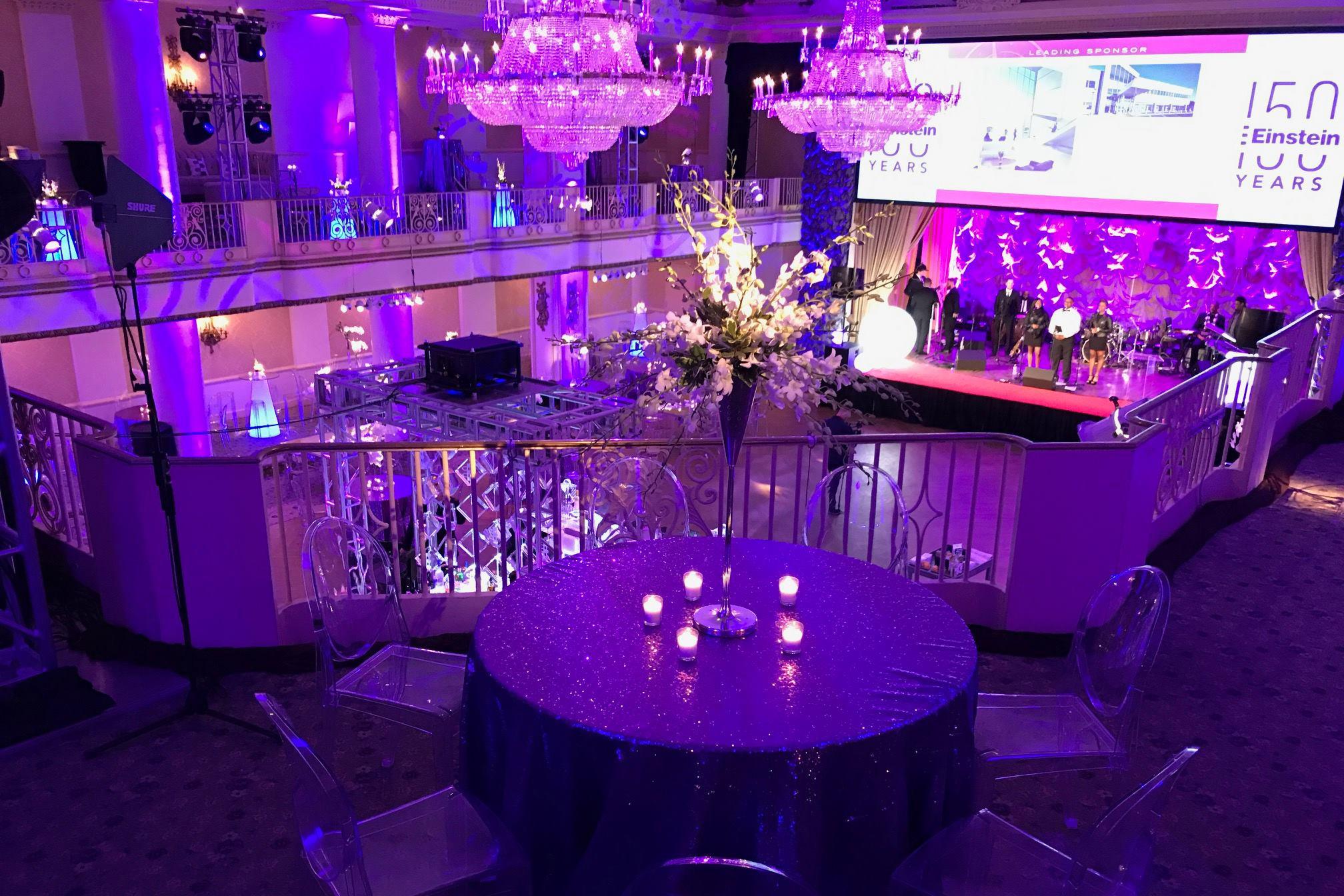 Glitter City Celebration at the Hyatt Bellevue | New Years ...